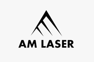 AM Laser logo